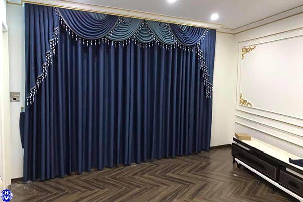 Mẫu rèm cửa cao cấp may tân cổ điển tôn vinh vẻ đẹp cho căn phòng