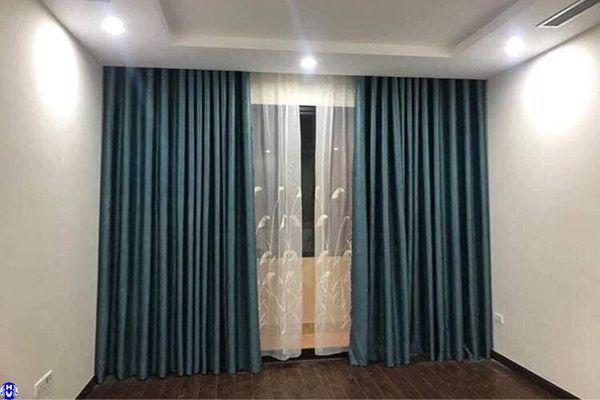 Mẫu rèm cửa cao cấp thiết kế theo phong cách hiện đại tối giản