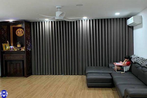 Mẫu rèm cửa đẹp thiết kế bởi thợ may khéo léo hải vân tại Hà Nội