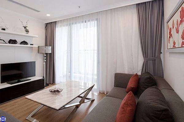 Mẫu rèm cửa giá rẻ phù hợp với thiết kế nội thất căn phòng