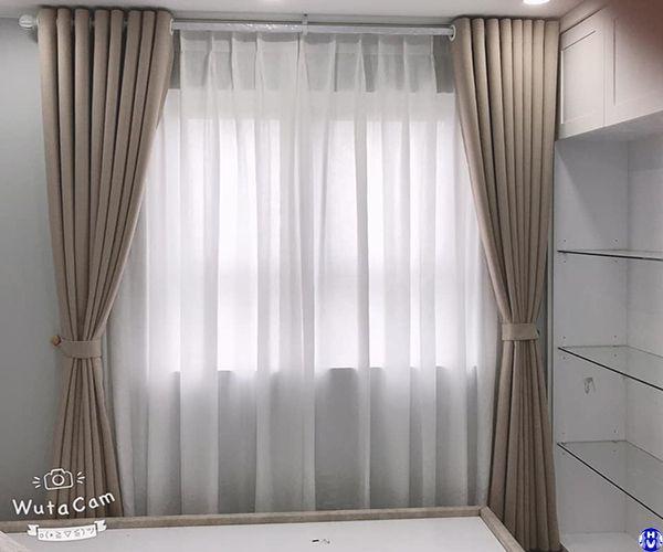 Mẫu rèm cửa sổ giá rẻ đẹp ở Hà Nội do công ty hải vân thiết kế