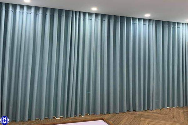 Mẫu rèm vải 1 lớp rẻ đẹp được nhiều khách hàng lựa chọn