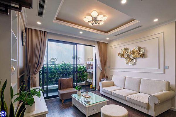 Mẫu rèm vải cao cấp chống nắng trang trí cho ngôi nhà hiện đại