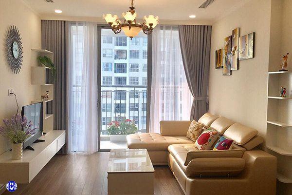 Mẫu rèm vải cao cấp đơn giản sang trọng tôn vinh vẻ đẹp cho căn phòng