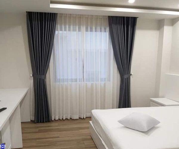 Mẫu rèm vải khách sạn đẹp sang trọng tại Hà Nội