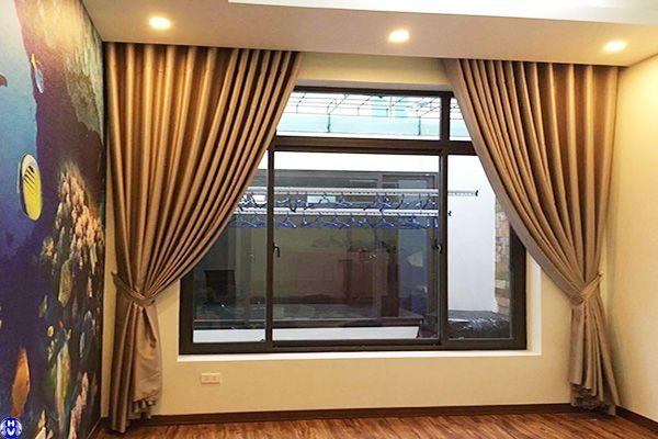 Một trong mẫu rèm cửa sổ đẹp tại khu vực huyện thanh trì