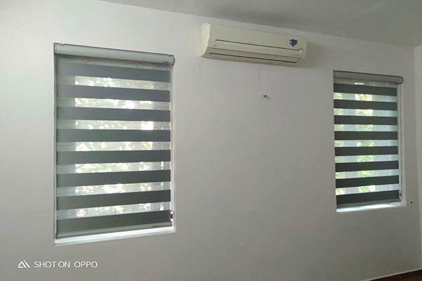 Rèm cầu vồng giá rẻ treo cửa sổ nhỏ gia đình tại hà nội