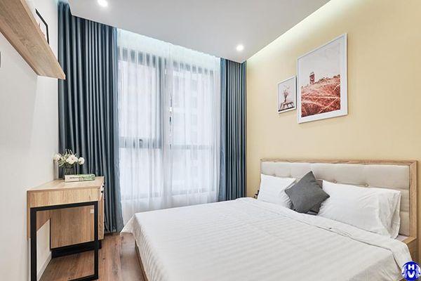 Rèm cửa cao cấp lắp khách sạn tại trần quốc hoàn cầu giấy