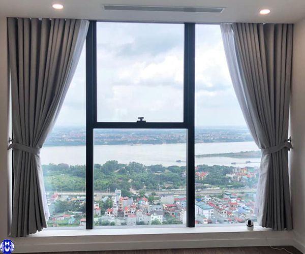 Rèm cửa sổ 1 lớp phòng ngủ có diện tích nhỏ tại Hà Nội
