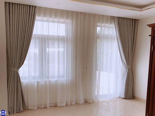 Rèm cửa sổ âm trần nhà mặt phố tại giáp nhất thanh xuân
