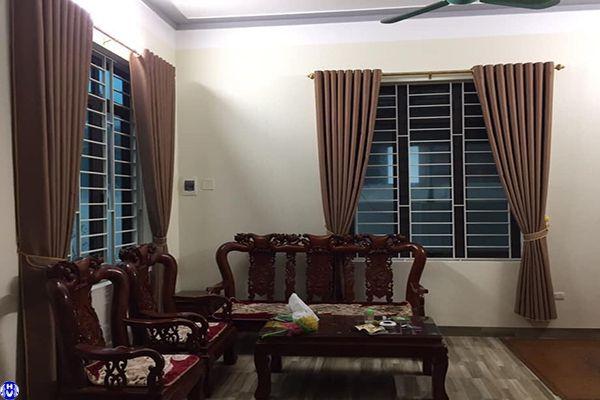 Rèm cửa sổ gia đình che nắng ở phố đặng dung ba đình