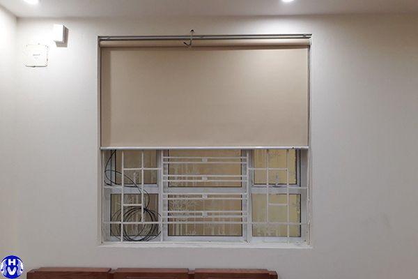Rèm cuốn cửa sổ giá rẻ lắp đặt công trình quang trung hà đông