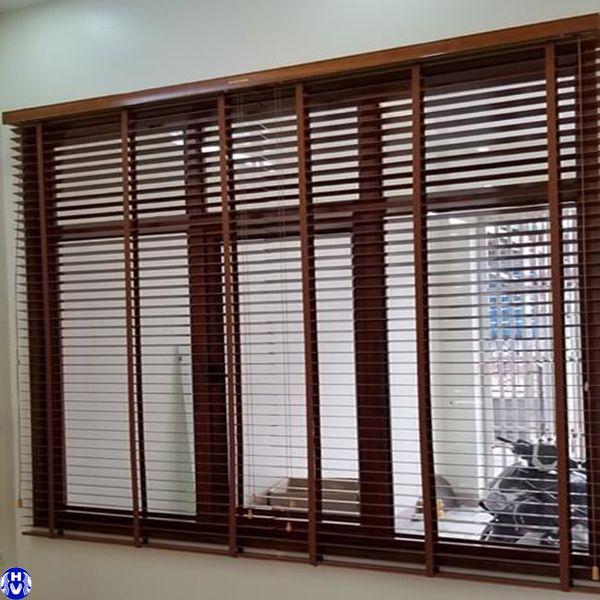 Rèm gỗ cửa sổ giá rẻ lắp công trình tại yên nghĩa hà đông