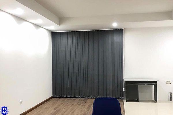 Thi công rèm lá dọc văn phòng tại sài đồng long biên