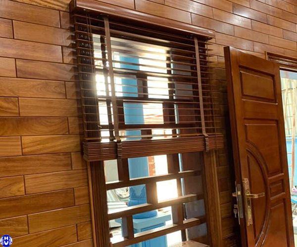 rèm sáo gỗ gia đình tại thanh nhàn hai bà trưng