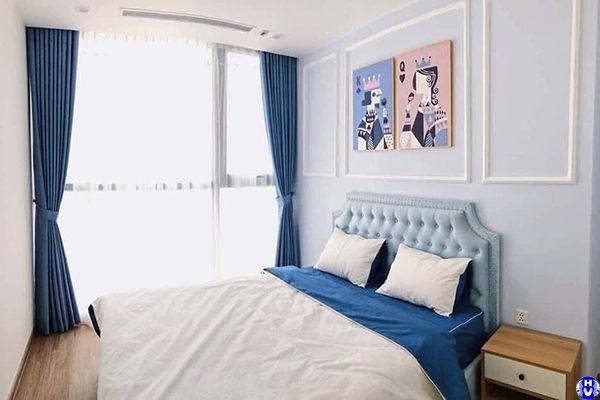 Lắp đặt rèm vải cho khách sạn ở thái thịnh đống đa
