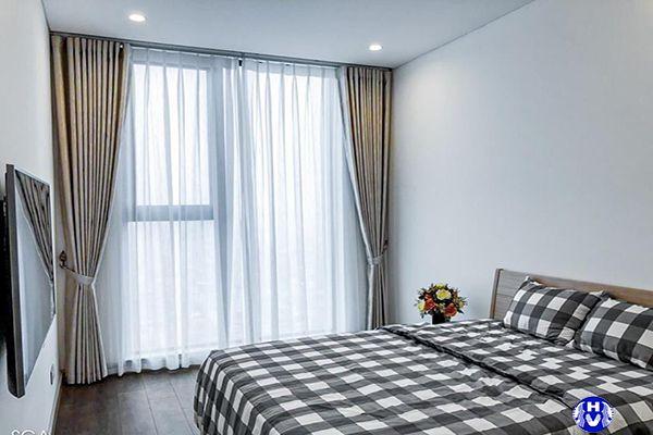 Lắp rèm vải cho khách sạn sang trọng tại võng thụy khê tây hồ
