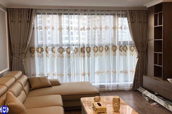 rèm vải gấm cao cấp cho nhà chung cư tại hà đông hà nội