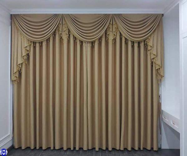 Rèm vải giá rẻ đẹp cửa sổ dành cho chung cư ở hà nội
