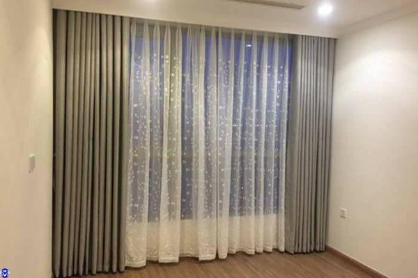 Rèm vải khách sạn cao cấp tại nguyễn sơn long biên