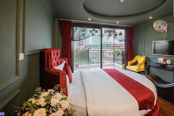 Lắp rèm vải khách sạn tại bạch đằng hai bà trưng
