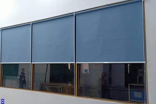 Thi công rèm cuốn cửa sổ cho xí nghiệp tại Hà Nội