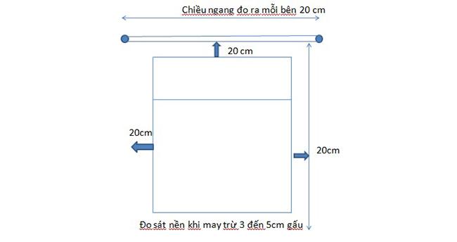 cách đo để may một bộ rèm cửa ore chuẩn