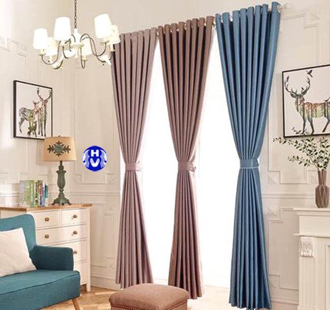 Đa dạng màu sắc trong thiết kế rèm cửa sổ tại thanh trì