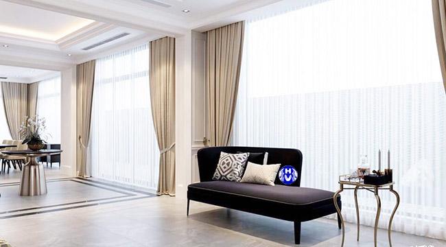 không gian rèm cửa cao cấp tại Thanh Xuân