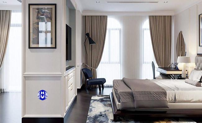 mẫu rèm cửa cao cấp phòng ngủ tại Thanh Xuân