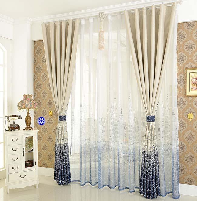 Mẫu rèm cửa rẻ đẹp gia đình tại Hà Nội