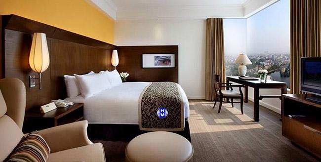 Mẫu rèm cửa rẻ đẹp trong khách sạn tại Hà Nội
