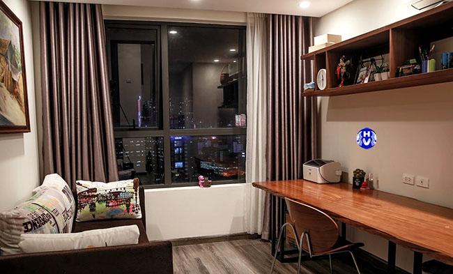 Mẫu rèm cửa sổ chung cư được nhiều khách hàng lựa chọn tại Tây Hồ