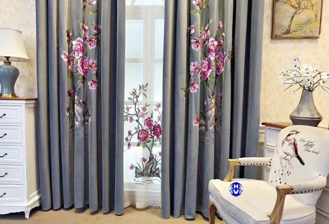 mẫu rèm cửa sổ đẹp được nhiều khách hàng tại Hoàn Kiếm ưu thích