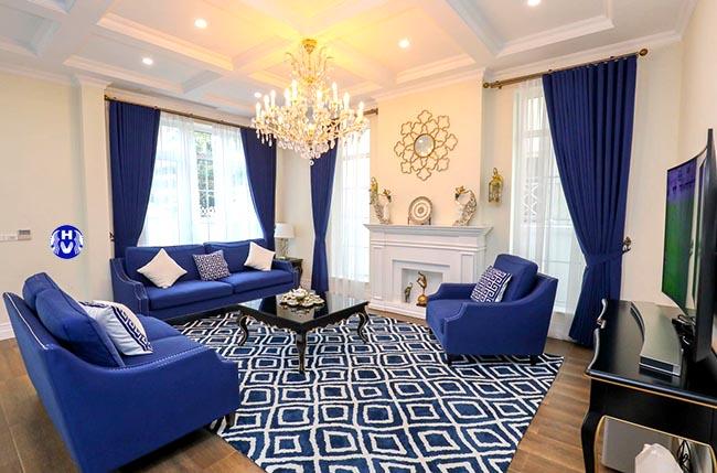 mẫu rèm cửa sổ đẹp được yêu thích nhất tại thanh xuân- KTS Hải Vân thiết kế