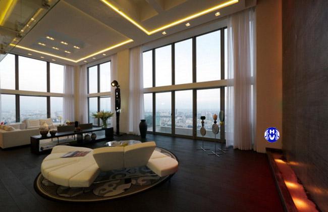 Mẫu rèm cửa sổ đẹp tại hà nội do công ty hải vân thiết kế