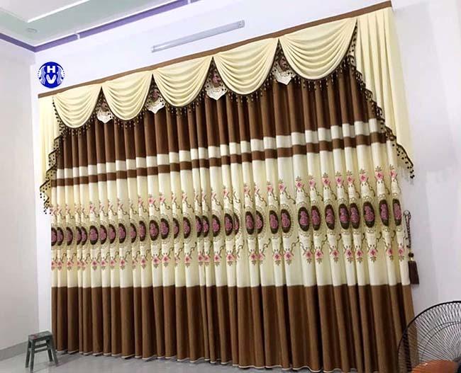 mẫu rèm cửa sổ đẹp tại hai ba trung thiết kế bởi Hải Vân