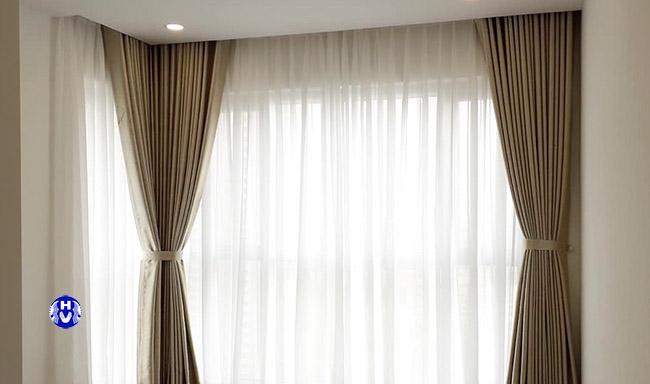 Mẫu rèm cửa sổ đẹp tại hoàng mai thiết kế bởi Hải Vân