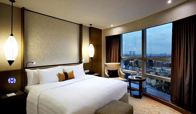 mẫu rèm cửa sổ thiết kế cho khách sạn tại hà đông