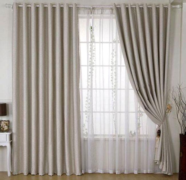 Mẫu rèm cửa sổ thiết kế đơn giản
