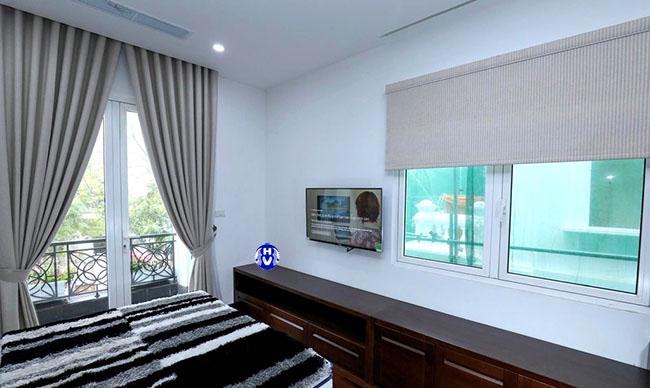 Mẫu thiết kế rèm cửa sổ không thể thiếu tại không gian mỗi ngôi nhà ở ba đình