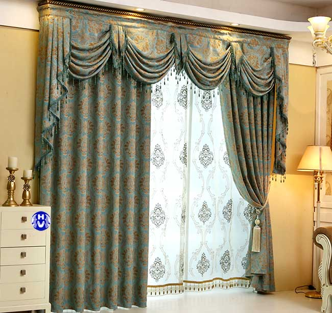 Mẫu thiết kế rèm cửa tương sinh với người mệnh thủy