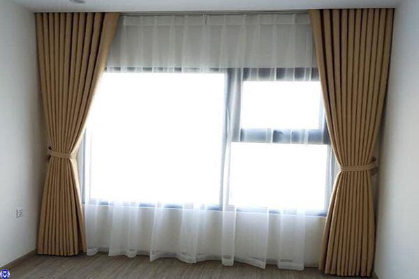 rèm cửa sổ che nắng cho chung cư ở tân xuân bắc từ liêm