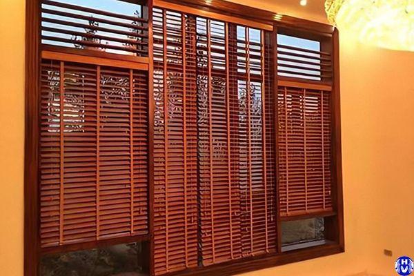 Lắp đặt rèm gỗ giá rẻ tại khâm thiên đống đa