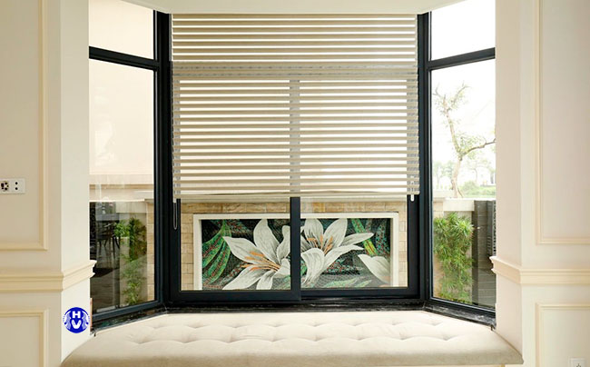 rèm cửa lá lật sử dụng cách tính theo mét vuông