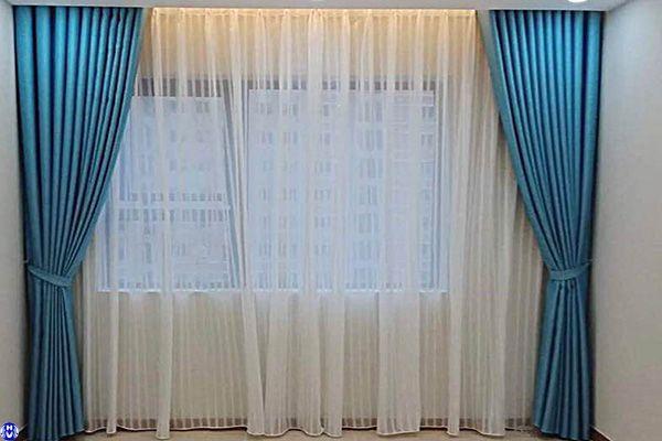 rèm vải nhập khẩu lắp cửa sổ gia đình đường phan trọng tuệ thanh trì