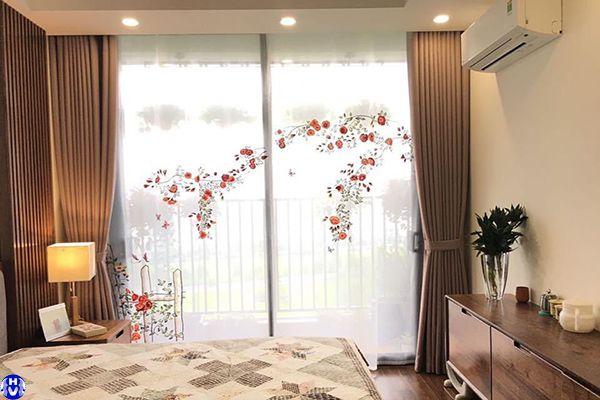 Rèm vải giá rẻ phòng ngủ khách sạn tại tây hồ hà nội