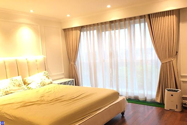 Mẫu rèm cửa giá rẻ may theo yêu cầu nhà biệt thự ở Hà Nội