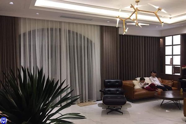 Mẫu thiết kế rèm cửa sổ giá rẻ đẹp nhà phố Hà Nội