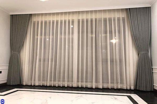 Một trong những mẫu rèm cửa sổ giá rẻ chủ đầu tư yêu thích ở Hà Nội